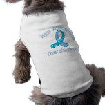 Con conciencia hay cáncer de próstata de la espera ropa de perro