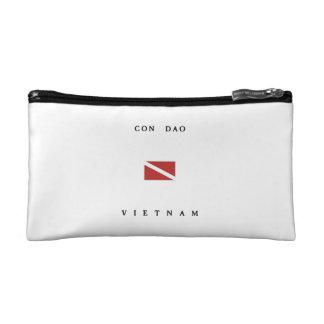 Con Dao Vietnam Scuba Dive Flag Makeup Bag