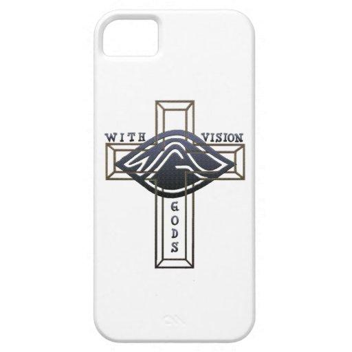 Con dioses Vision iPhone 5 Carcasas