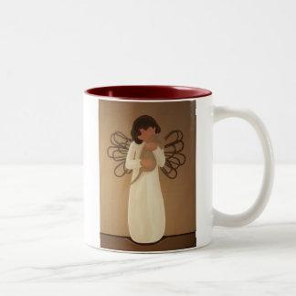 Con el afecto tazas de café