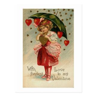 Con el amor más encariñado tarjetas postales