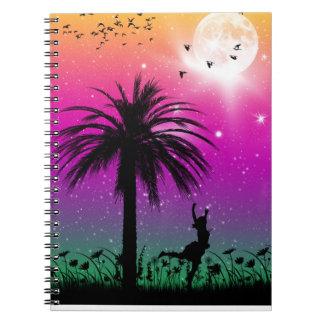 Con el cuaderno de los pájaros