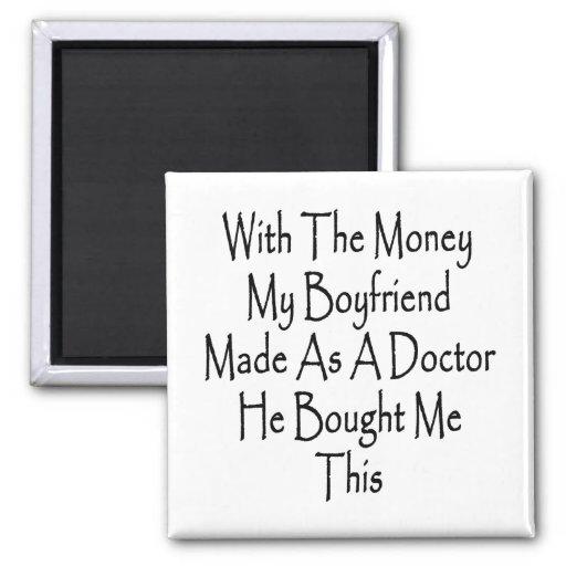 Con el dinero mi novio hecho como doctor He BO Imán Cuadrado
