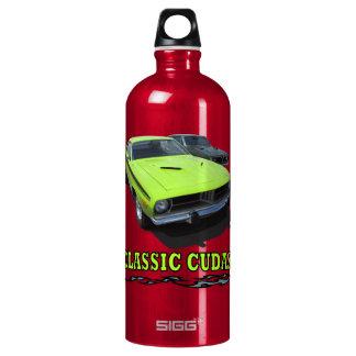 Con el diseño clásico de Cudas Botella De Agua
