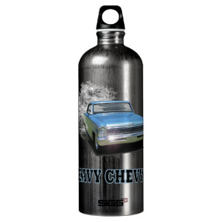 con el diseño pesado de Chevy II Botella De Agua