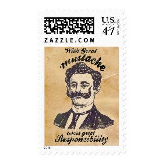 Con el gran bigote, viene la gran responsabilidad sellos