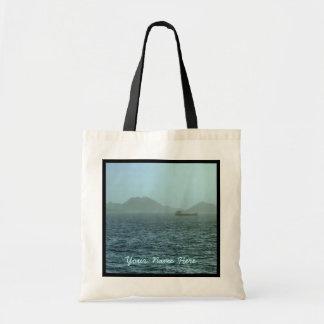Con el personalizado de la niebla bolsa tela barata