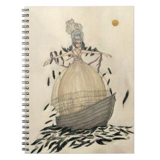 Con el velo - cuaderno