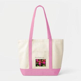 Con Fuschia say... Impulse Tote Bag