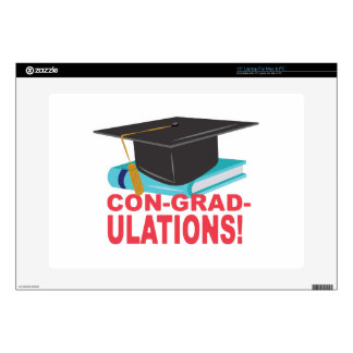 "Con-Grad-Ulations 15"" Laptop Decals"