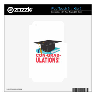 Con-Grad-Ulations Decals For iPod Touch 4G