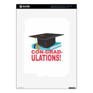 Con-Grad-Ulations iPad 3 Skin