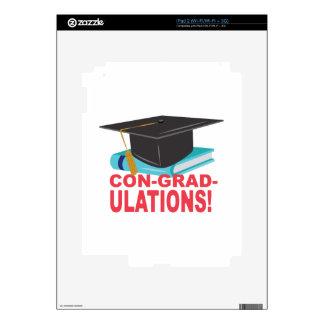 Con-Grad-Ulations Skin For iPad 2