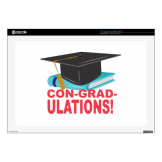 """Con-Grad-Ulations Skins For 17"""" Laptops"""