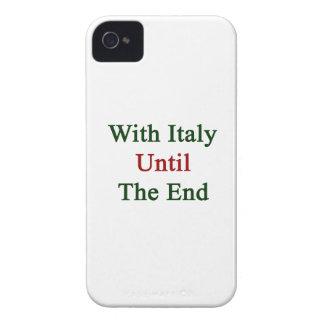 Con Italia hasta el extremo Case-Mate iPhone 4 Protectores