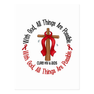 CON las camisetas y los regalos del SIDA/VIH de la Postal