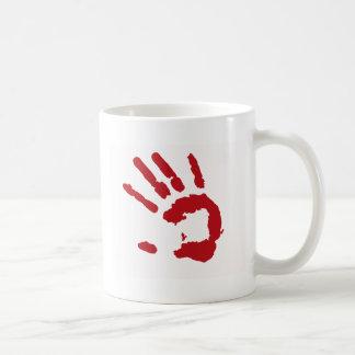 Con las manos en la masa taza