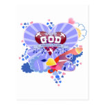 Con los corazones de dios postal