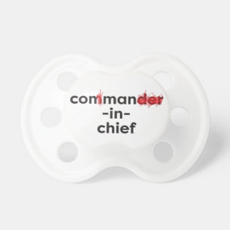 Con Man In Chief Pacifier