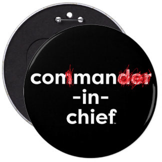 Con Man In Chief Pinback Button