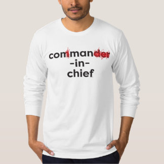 Con Man In Chief T-Shirt