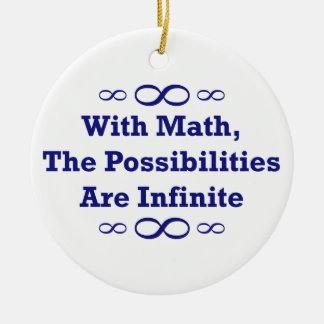 Con matemáticas, las posibilidades son infinitas ornamente de reyes