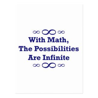 Con matemáticas, las posibilidades son infinitas postal