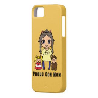 Con Mom iPhone 5 Cases