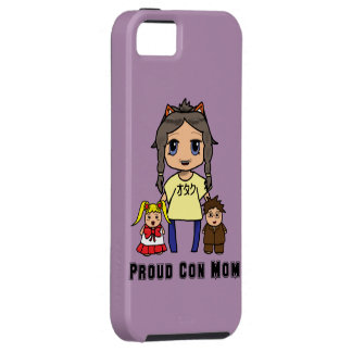 Con Mom iPhone 5 Covers