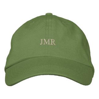 Con monograma gorras de béisbol bordadas