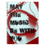 Con música cuaderno