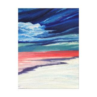 Con playas lona envuelta para galerias