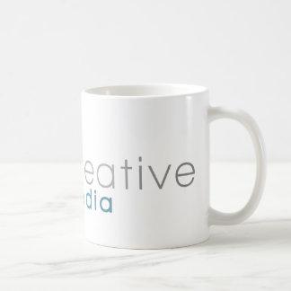 (Con referencia a) taza creativa del logotipo
