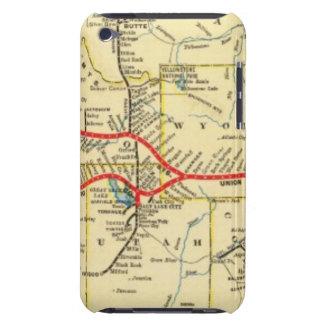 Con servicio del tren de Chicago iPod Touch Case-Mate Cárcasas