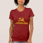 ¡Con socialismo todos gana! Sátira del gobierno Camiseta