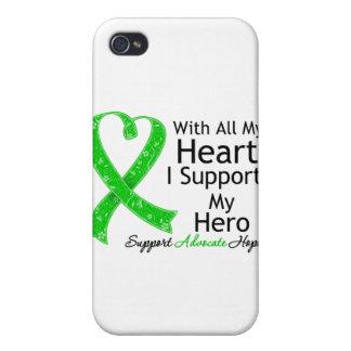 Con todo mi corazón iPhone 4 funda