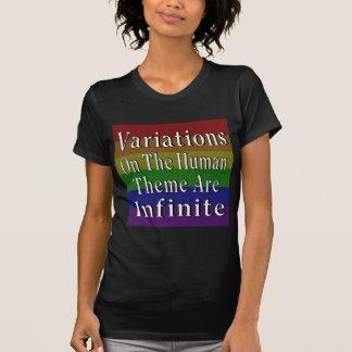 Con una mente abierta usted será Hearted abierto Camiseta