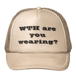 ¿CON usted está llevando? Gorra