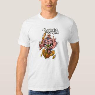 Conad la camiseta del blanco de Venusian Polera