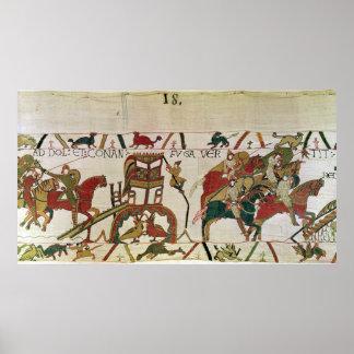 Conan flees, Duke William's Knights Fighting Posters