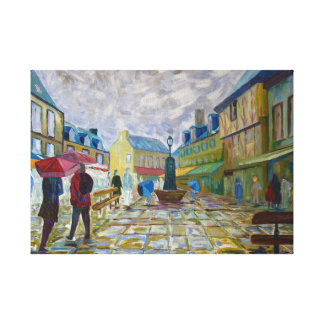 Concarneau Canvas Print