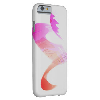 Concave Silhouette iPhone 6 case on White