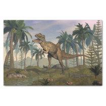 Concavenator dinosaur tissue paper