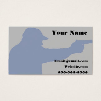 conceal class firearm business card