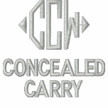 Concealed Carry Embroidered Hooded Sweatshirt