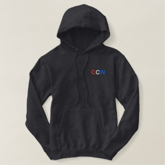 Concealed Carry Embroidered Hoodie