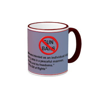 Concealed Carry Is An Individual Right Ringer Mug