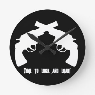 Concealed carry products round clocks