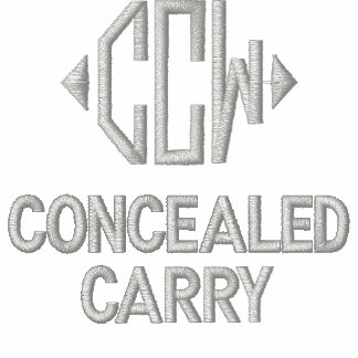 Concealed Carry Women Embroidered Hoodies