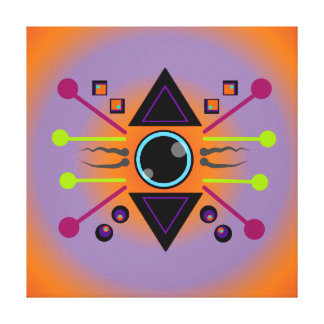 Conceiving New Vision: Inner Strenght Canvas Print